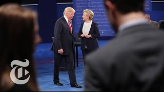 Second Presidential Debate | Election 2016 | The New York Times