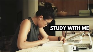 Final Exam Study With Me (with music)-- Real Time Study Session