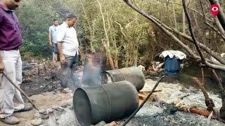 Karjat police destroys 10 illegal alcohol dens। Mumbai Live