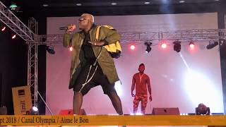 """PIKALUZ """"The God of Togo Rap Game """" performance at """"Loko Concert"""" in Lomé / Canal Olympia"""