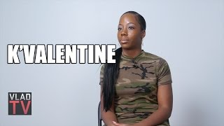 K'Valentine on Father Getting Shot 30 Times, Not Wanting Revenge