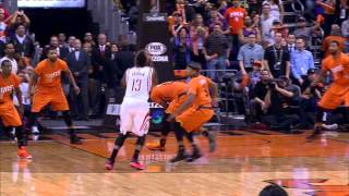 James Harden Creates Space and Sinks Game Winner - Taco Bell Buzzer Beater
