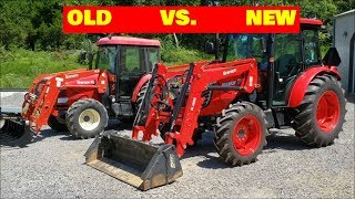 OLD TRACTOR TECH VS. NEW TRACTOR Branson Tractor reviews