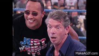 The Rock, JR,  Trish, & Rikishi close Vince's Kiss My Ass Club!