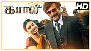 Kabali Tamil Movie | Rajini recollects past | Radhika Apte | Nassar | Kishore | John Vijay