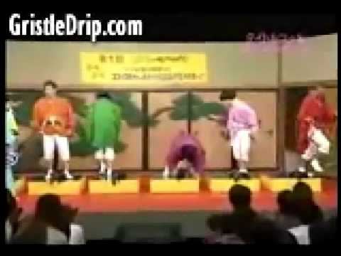 Horribly Funny Japenese Game Show - Get A Hit To The Balls