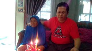 Mami birthday, of 81, in March 18, 2018...