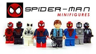 The Amazing Spider-Man LEGO KnockOff Minifigures Set 1 w/ Venom & Carnage