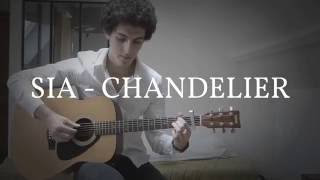 Chandelier - Sia - Fingerstyle Guitar Cover
