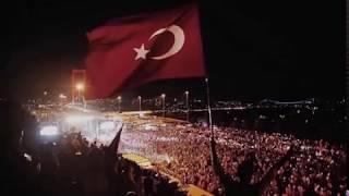 15 Temmuz Şehitler Köprüsü Yürüyüşü Ölürüm Türkiyem