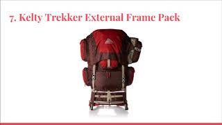 Top 10 Best External Frame Packs in 2018 - DtopList