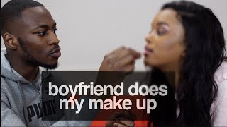 BOYFRIEND DOES MY MAKE UP | Only Bells