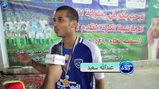 بطولة الكيادي للفئات السنيىة l لقاء مع الكابتن عمر سعيد لاعب سلام الجامعة