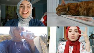VLOG || Telefonum bozuldu, evde neler yapıyorum, bisiklet, kediler