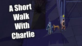 Let's Play The Sims 4 Get Famous EP52 A short walk with Charlie
