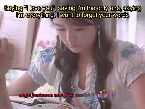 Saying I love you-Kim Jong Kook (Eng Sub and Romanized lyrics)