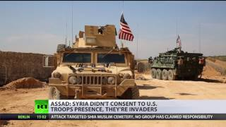 Assad: No one invited US to Manbij, all foreign troops in Syria without permission are 'invaders'