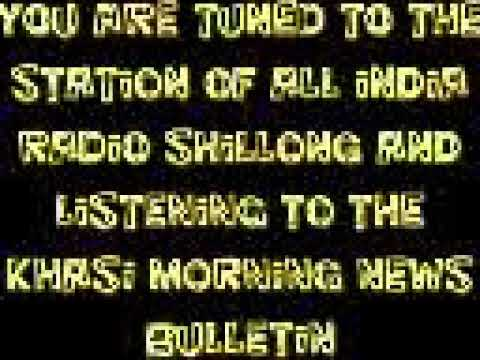 Xxx Mp4 KHASI MORNINJG NEWS BULLETIN FROM THE SHILLONG STATION OF ALL INDIA RADIO 20 01 19 3gp Sex