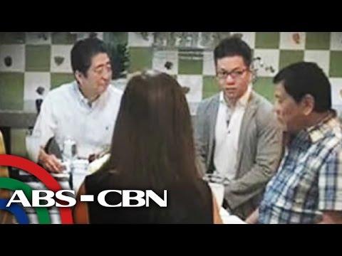 watch TV Patrol: Japan PM Abe, nag-almusal sa bahay ni Duterte sa Davao