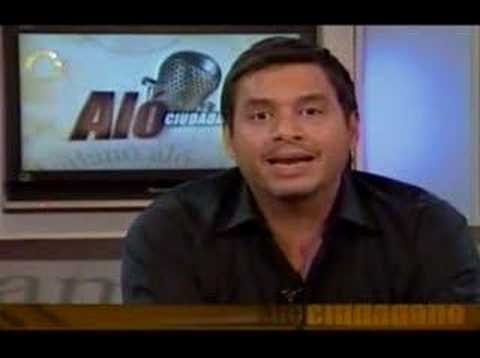 DANIEL SARCOS CHIQUINQUIRA EN ALO CIUDADANO