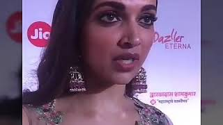 Bollywood queen Deepika Padukone at Marathi Filmfare awards night