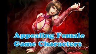 10 Most Appealing Female Game Characters | Amazing Top 10