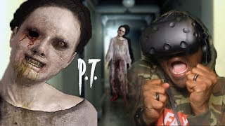 The SCARIEST Silent Hills Fan Remake In VR   Corridors (w/ HEART RATE MONITOR)