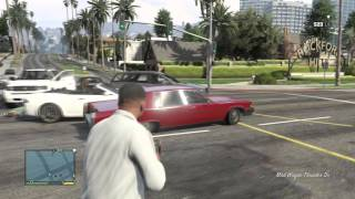 مراجعة لعبة حرامي السيارات 5 | grand theft auto V