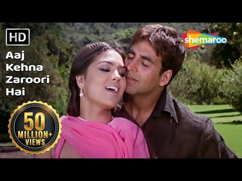 Xxx Mp4 Aaj Kehna Zaroori Hai Andaaz Songs Akshay Kumar Lara Dutta Udit Alka Hits Filmigaane 3gp Sex