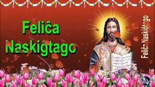 0 136 Esperanto Happy Birthday Greeting Wishes includes Jesus  Christ  with Bible by  Bandla