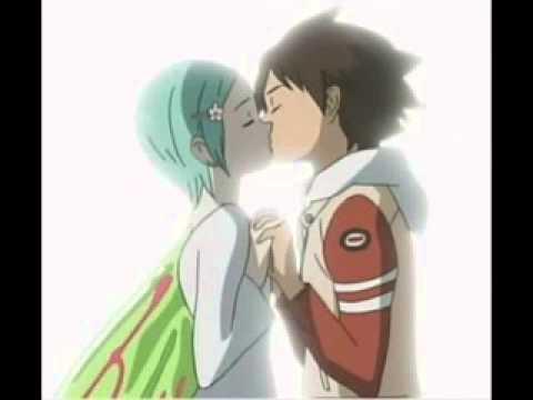first kiss !!