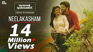 Jomonte Suviseshangal   Neelakasham Video Song   Dulquer Salmaan,Aishwarya Rajesh   Official