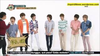 130501 Weekly Idol - Infinite Ep 1 1/4 (sub español) HD