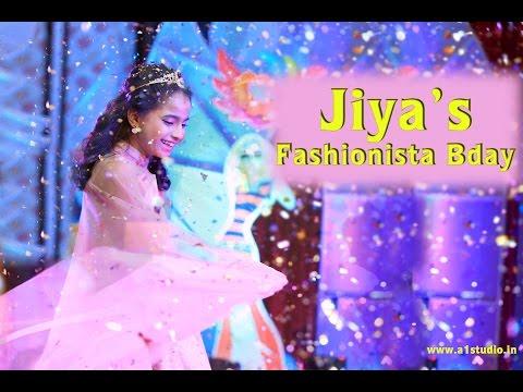 Jiya s Fashionista Birthday