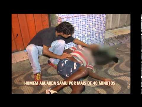 Homem com ataque epilético espera quase uma hora por atendimento em BH