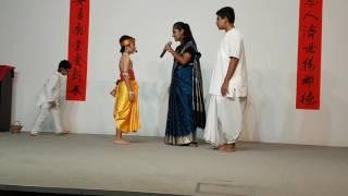 Kids drama on Sri Gaura Poornima @ Sri Krishna Mandir