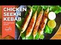 Download Video Download CHICKEN SEEKH KEBAB Recipes | Non Veg Snacks | Chicken recipes for Snacks | Indian Non Veg Recipes 3GP MP4 FLV