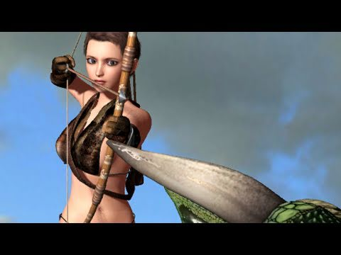 3D CG Animation A Dragon and an Elf 【自主制� �アニメ】