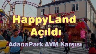 Adana ParkAVM HappyLand Lunapark Açıldı.