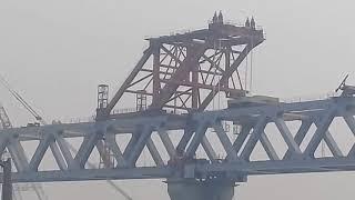 পদ্মা সেতু ৪থ স্প্যনের নিকট নদী শসনের কাজ কেমন করে কর হচ্ছে|Padma Bridge Construction Progress
