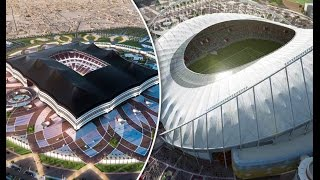 Top 10 Incredible football stadiums of the future | soccer stadiums
