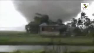 Cyclone Roanu Live on Camera