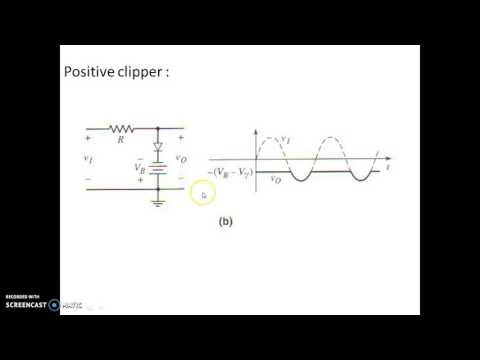 Clippers(wave shaping circuits)