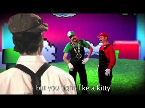 (Clean) Mario Bros vs Wright Bros: Epic Rap Battles of History Season 2 (HD)