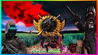 PUBG MOBILE LIVE | #15 RANKED PLAYER ASIA SERVER | TEAM HYDRA OFFICIAL