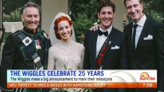 The Wiggles Celebrate 25 Years - Sunrise - June 14th, 2016