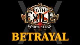 Path of Exile - обзор анонса лиги Betrayal