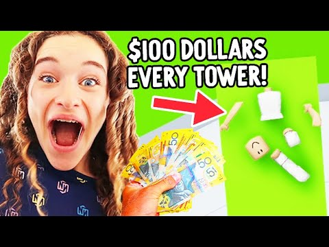MAKE A TOWER WIN 100 Roblox Gaming w The Norris Nuts