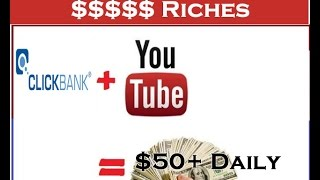 How To Promote CLICKBANK With Youtube | The Best Free Way 2016