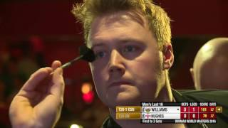 Darts World Masters 2016 Last 16 Hughes vs Williams